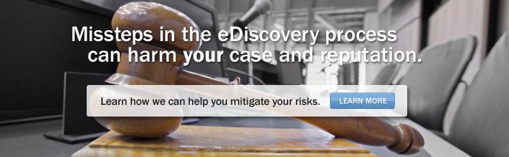 Missteps in the eDiscovery process can harm your case and reputation.